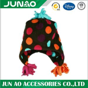 Wholesale girls earflap winter hat