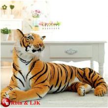 Karikatur Charakter weichen Spielzeug Kinder Spielzeug lebensechten Tiger weichen Spielzeug