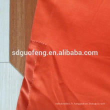 100% coton tissu pour vêtement vêtements de travail veste / tissé tissu de coton sergé