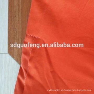 Tela 100% de algodão para o revestimento do workwear do vestuário / tela de algodão tecida da sarja