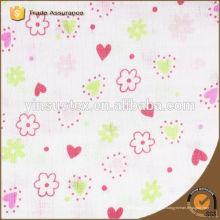 Modèle de fleurs 100% couverture de bébé en coton organique pour cadeau d'anniversaire