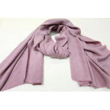 Monochrome crushed scarves ladies winter fringe on four side super soft hand feeling