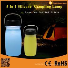 Lanterne de camping à LED à plomb solaire portative portable
