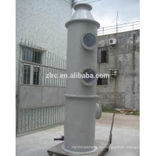Depurador de GRP / FRP para limpiar el gas residual