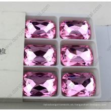 Granos cristalinos del octágono al por mayor de la moda para la decoración de la boda
