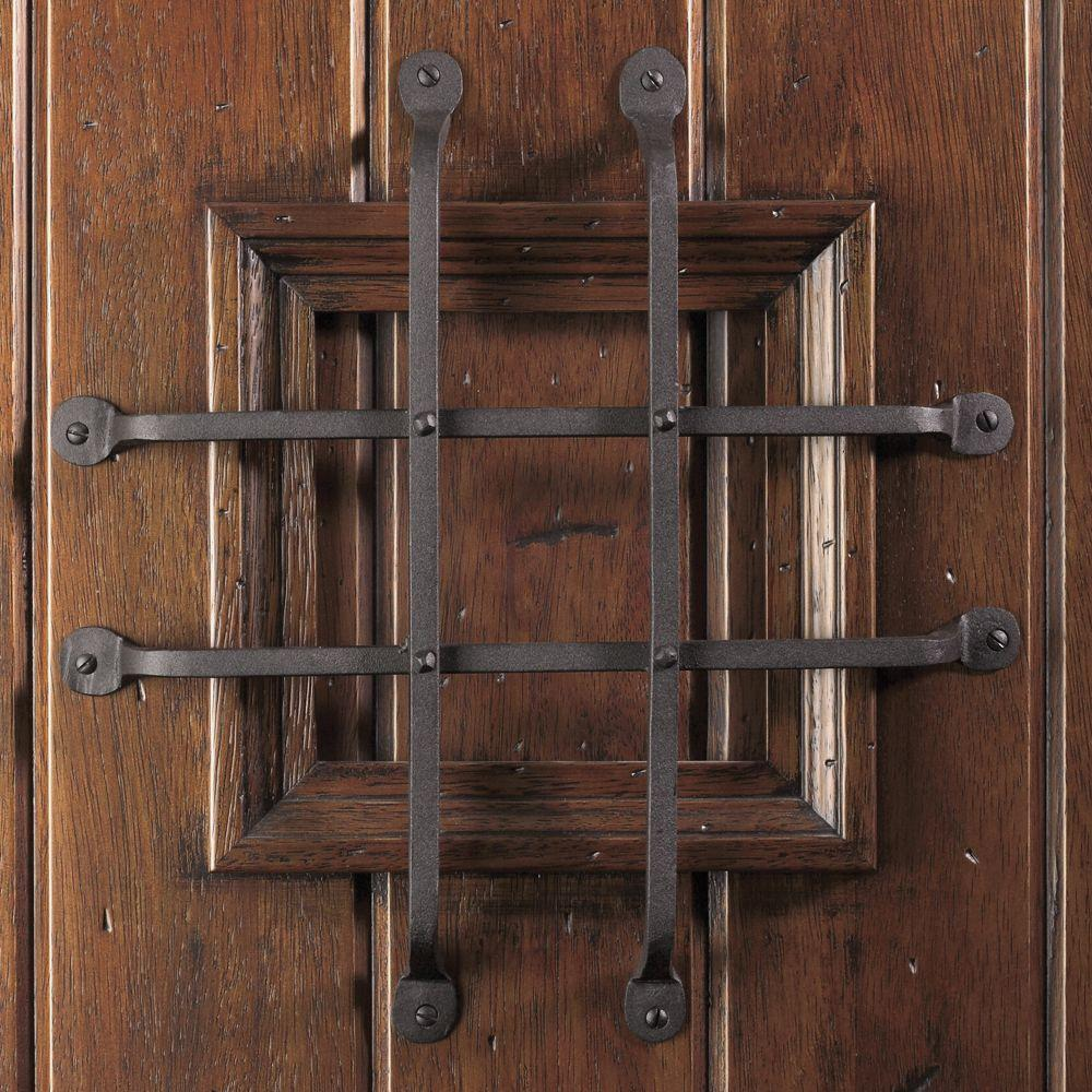 China Distressed Solid Wood Speakeasy Front Door Slab Manufacturers