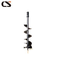Mini excavator auger drilling machine hand earth drill
