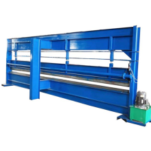 Wall panel bending roll forming machine