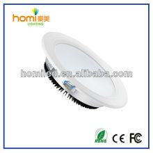 Tamaño grande 102mm led downlight