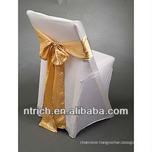 wholesale cheap and high quality folding chair cover/chair cover for wedding banquet