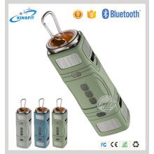 Presidente al aire libre portátil de Bluetooth del altavoz de la linterna 3W * 2