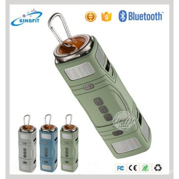 Orador exterior portátil de Bluetooth do orador da lanterna elétrica 3W * 2