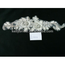 New arrival fashion lace and beads garment accessories children wedding dress
