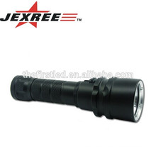 Highlight Factory selling Cree XML 18650 rechargeable led diving flashlight