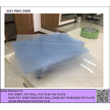 Rough Clear Frosted PVC Sheet