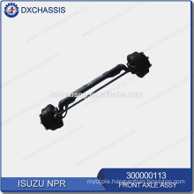 Genuine NPR Front Axle Assy 300000113