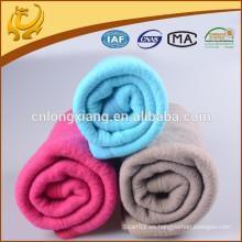 Manta tejida coreana fábrica China Algodón y mezcla de poliéster Fabricantes de manta de invierno al por mayor