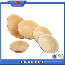 Fournisseur de la Chine 16-26 Cm émail Deep Dinner Plate