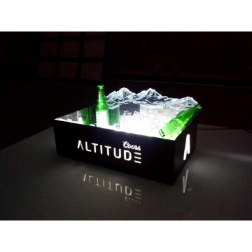 Seau à glace léger LED