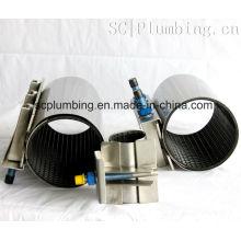 Fig. Sc120 Abrazadera de reparación de acero inoxidable completa