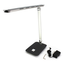 eye-protecting 7W led desk lamp aluminum 5500k touch swith