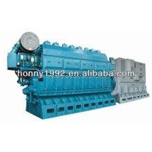 700kW China Heavy Oil Generator 750RPM / min