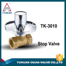 Válvula de control de flujo de la ducha ducha Válvula de cierre de la cabeza del pulverizador Interruptor de parada Proveedor de China