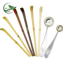 Lila Bambus Matcha Scoop (Chashaku) Bambus Löffel