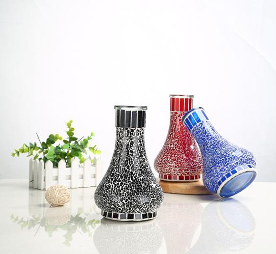 Pot type glass hookah