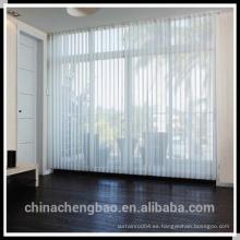 Listón de pvc para persianas verticales, persianas verticales de oficina, persianas de oficina