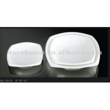 Special shape Saucer for hotel daily use P0114