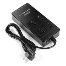 Sorties ORICO TPC-4A4U protection contre les surtensions multifonctions avec concentrateur USB