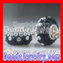 Fashion Pandor Style Crystal Beads Charms For European Chamilia Trollbeads Jewelry Bracelet