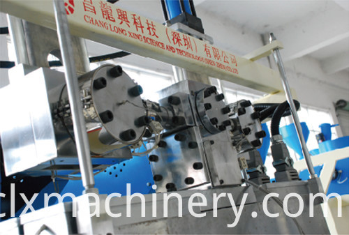three screw stretch film macking machine
