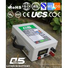 12V26AH Baterias de lítio industriais Lithium LiFePO4 Li (NiCoMn) O2 Polymer Lithium-Ion recarregável ou personalizado