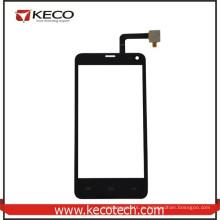 Китай Оптовая Черный мобильный телефон Новые части сенсорного стекла панель для Fly IQ4416