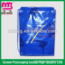 blue color cheap plastic small size jewelry bags