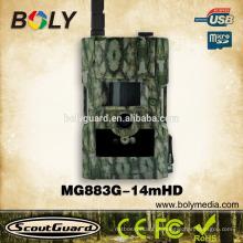 Câmeras da caça do cervo da visão nocturna 3G MMS GPRS da certificação do CE