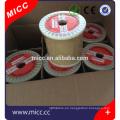 MICC alambre de resistencia aislado brillante