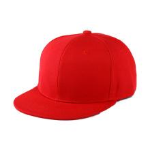 Modelo de chapéu Snapback em branco personalizado de 6 painéis