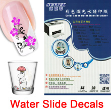 Nail Stickers Water Slide Decals for Ceramic Glass Plastic Mug