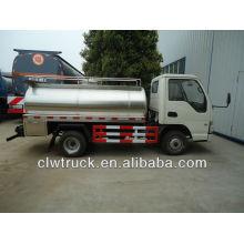 3000L mini caminhão de leite, camião cisterna de leite à venda