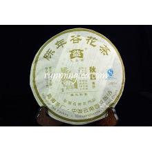 """2008 Menghai Dayi """"Aroma de otoño"""" Raw Pu Er Cake (801) Puer té Puerh Pu'er té Pu-erh té 500 g / pastel"""