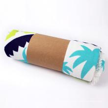 150cm turkish cotton velour round beach towels 150cm Microfibre Round beach towel