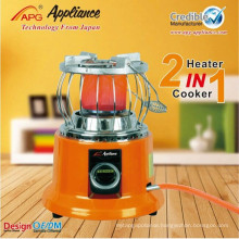 Ocarina home gas heater cook and heating 2 in 1