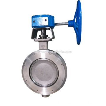 10 inch wafer type sanitary wafer butterfly valve dn300