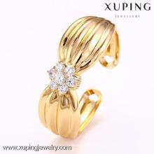 51020 Xuping alliage de cuivre bracelets or bowknot bracelet manchette pour les filles