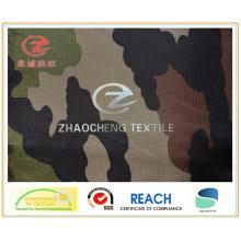 210t Ribstop Poly Taffeta Desert Camouflage Printing Fabric (ZCBP144)