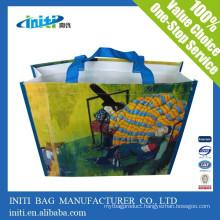 China promotional fashion custom Shopper Lamination Bag for shoping