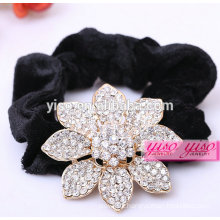 beautiful crystal flower hair accessories